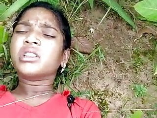 Desi Indian Girl Fucked in Forest