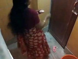 Punjab aunty bathing